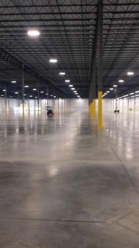 Concrete floor cleaning in Baltimore, Maryland
